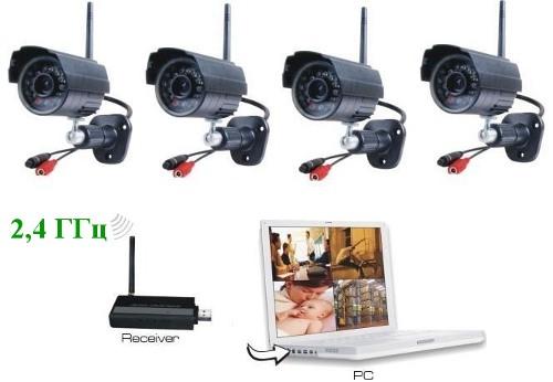 """Комплект беспроводного видеонаблюдения """"SITITEK Street"""" - фото Система видеонаблюдения Wi-Fi"""