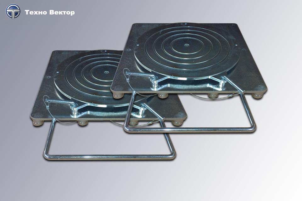 Техно Вектор 7 MC (3D стенды развал схождения для компактных помещений) - фото платформы_с_проточкой.png