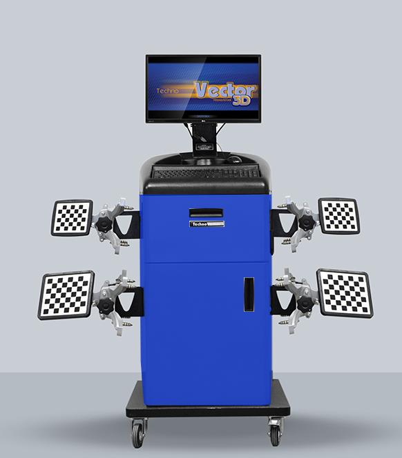Техно Вектор 7 MC (3D стенды развал схождения для компактных помещений) - фото T7202_MC.png