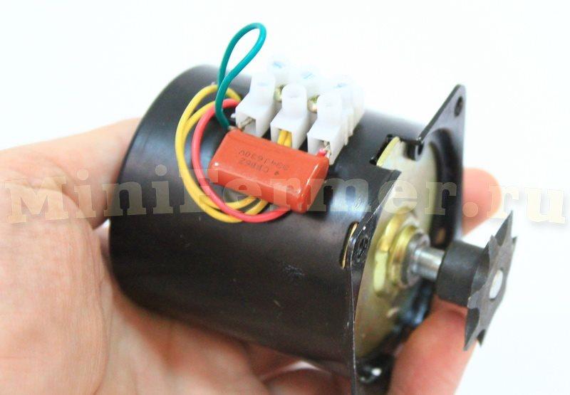 мотор для инкубатора 220В (фото 1)