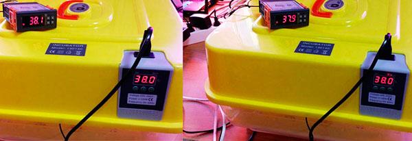 Тест точности показаний датчика температуры