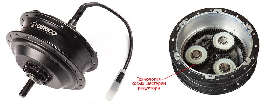 """Мотор колесо для велосипеда 36V 350W LCD 26""""  + АКБ 36V 10Ah (HL) - фото motor01.jpg"""