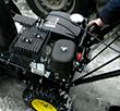 Снегоуборщик Huter SGC 4000 - фото Запуск двигателя Huter SGC 4000