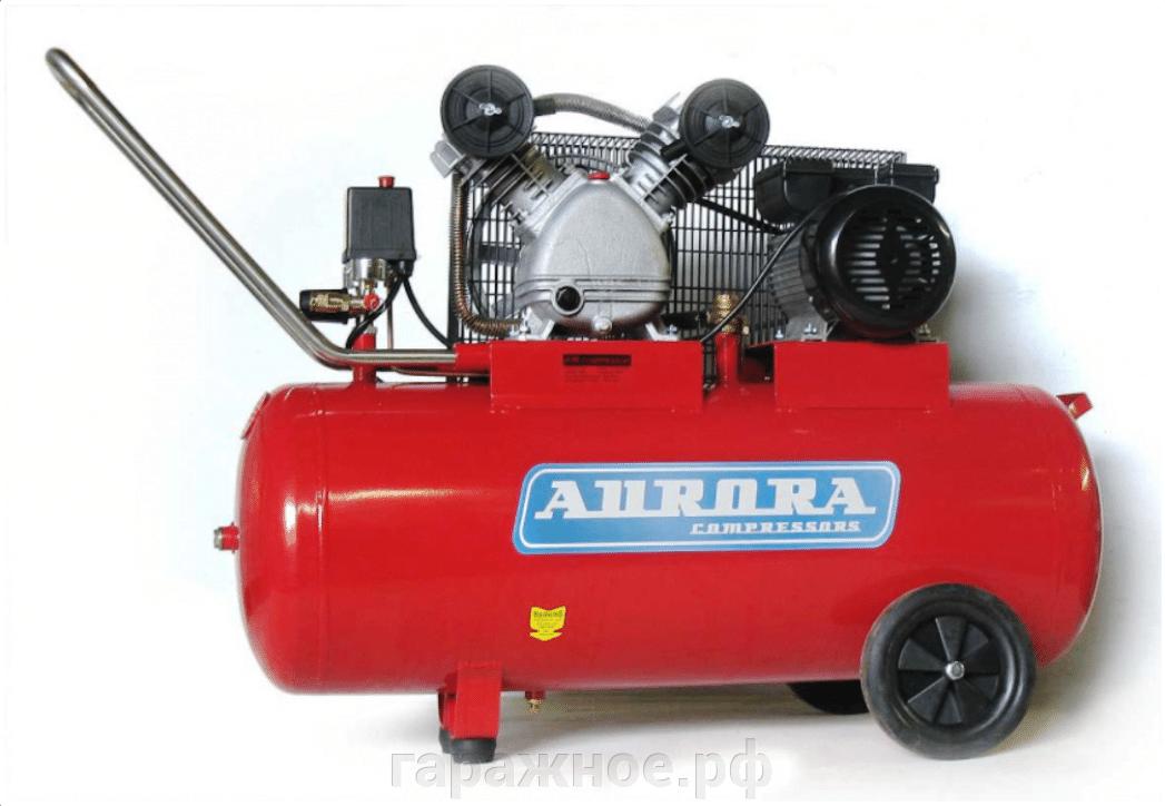 Компрессор поршневой Aurora - фото Поршневой компрессор Cyclon-100,