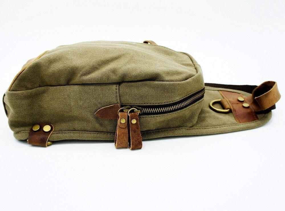 Брезент СКПВ арт. 11255 хб/лен - фото рюкзак из брезента