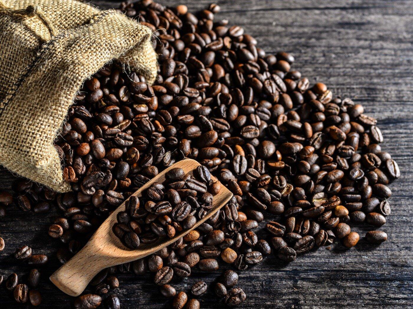 Мешки под кофе в зернах 30х40 см - фото мешочек джутовый под кофе 30х40