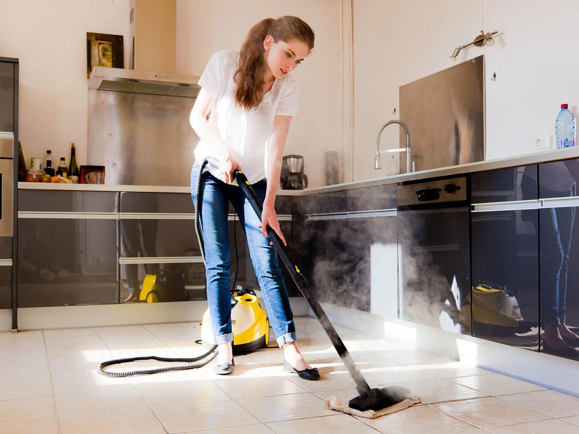 Prosept Multipower Floor концентрат для мытья полов - фото мытье полов