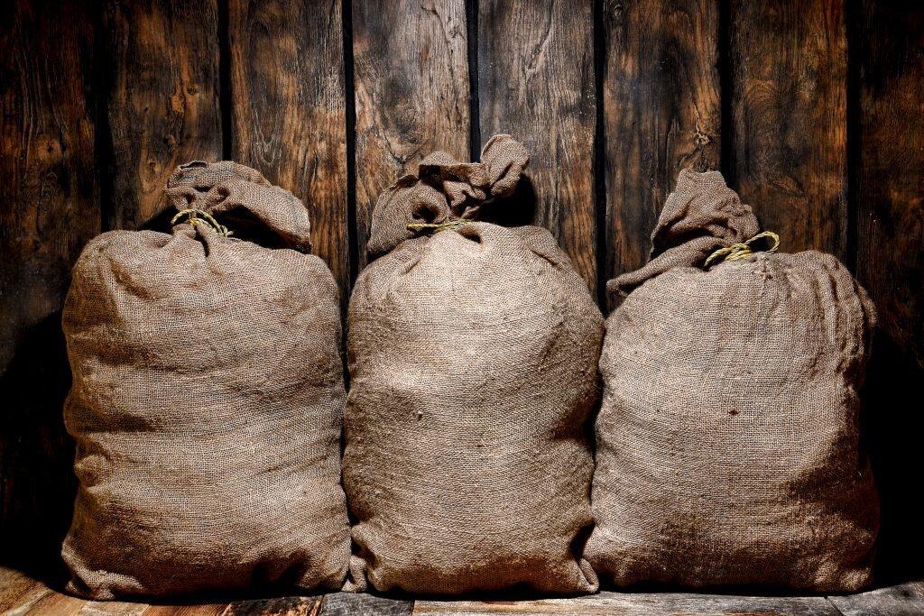 джутовые мешки под картошку