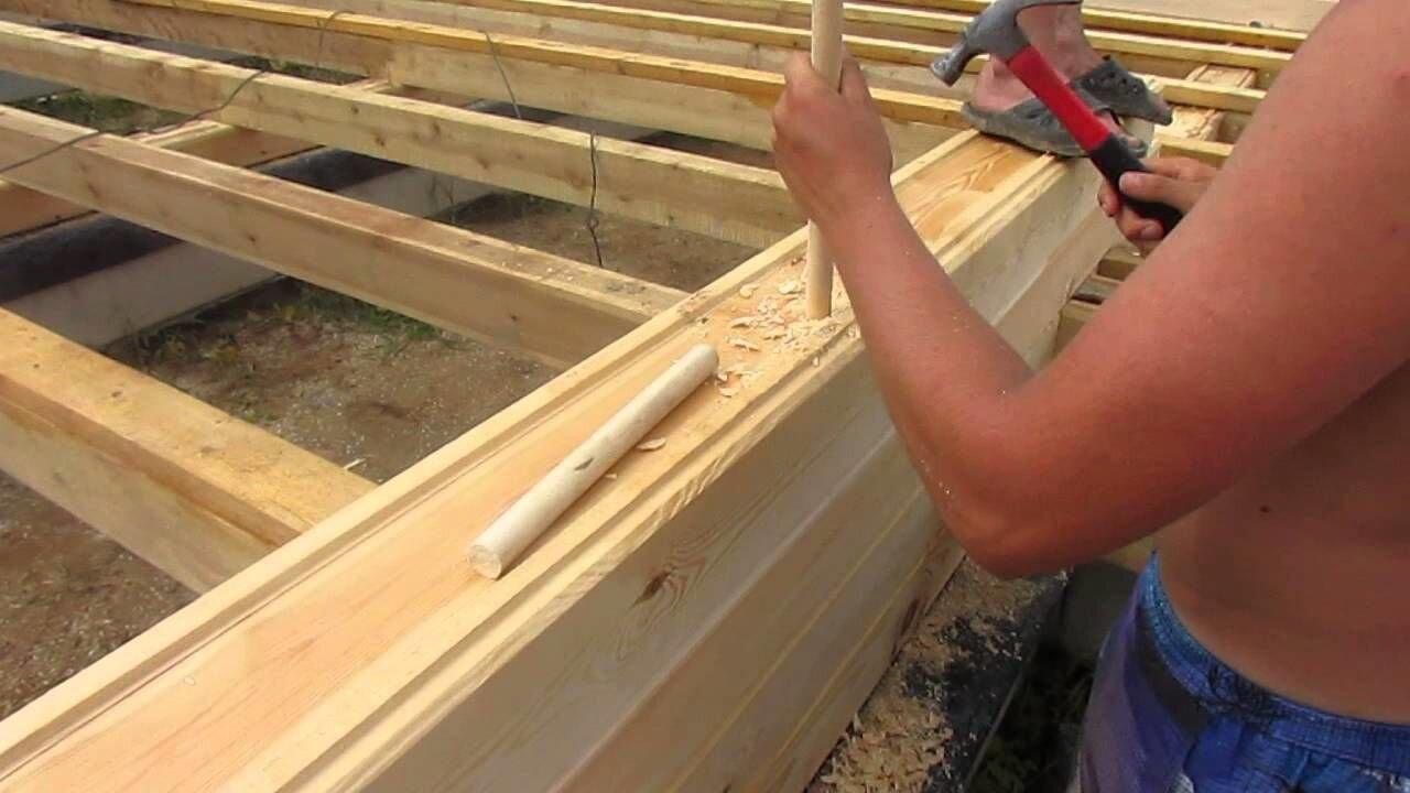 Нагели деревянные, для бруса сруба дома - фото pic_127bde33642b895_1920x9000_1.jpg