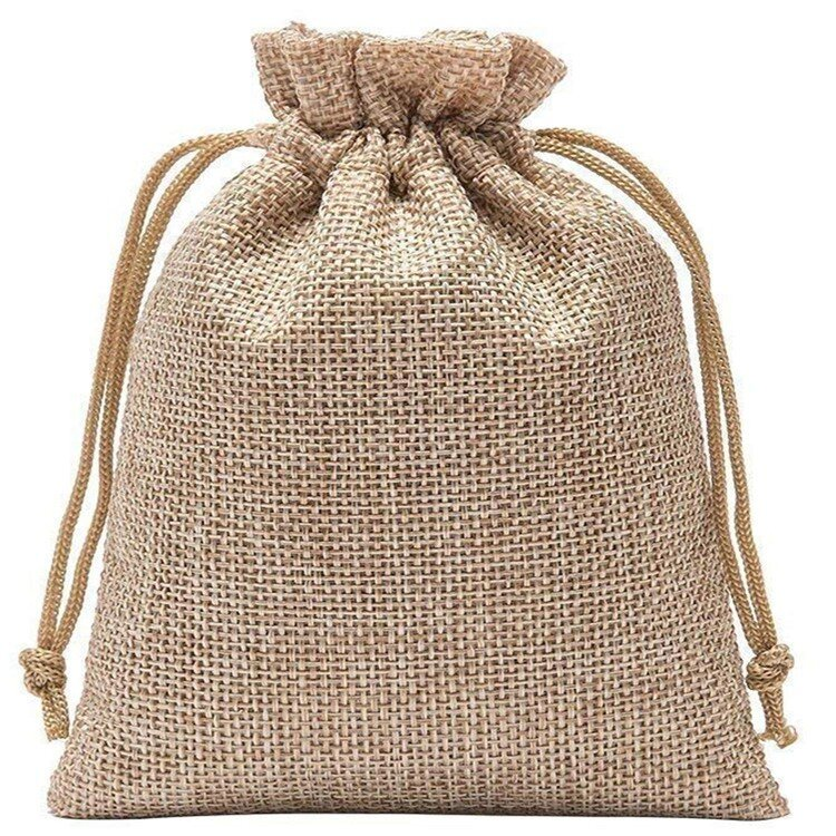 Мешки для подарков холщевые 30х40 см - фото холщёвые мешки