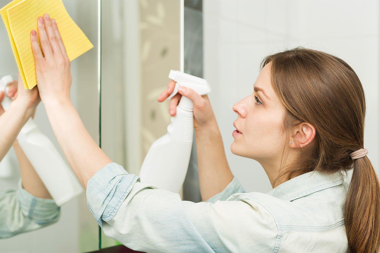 мытье зеркал