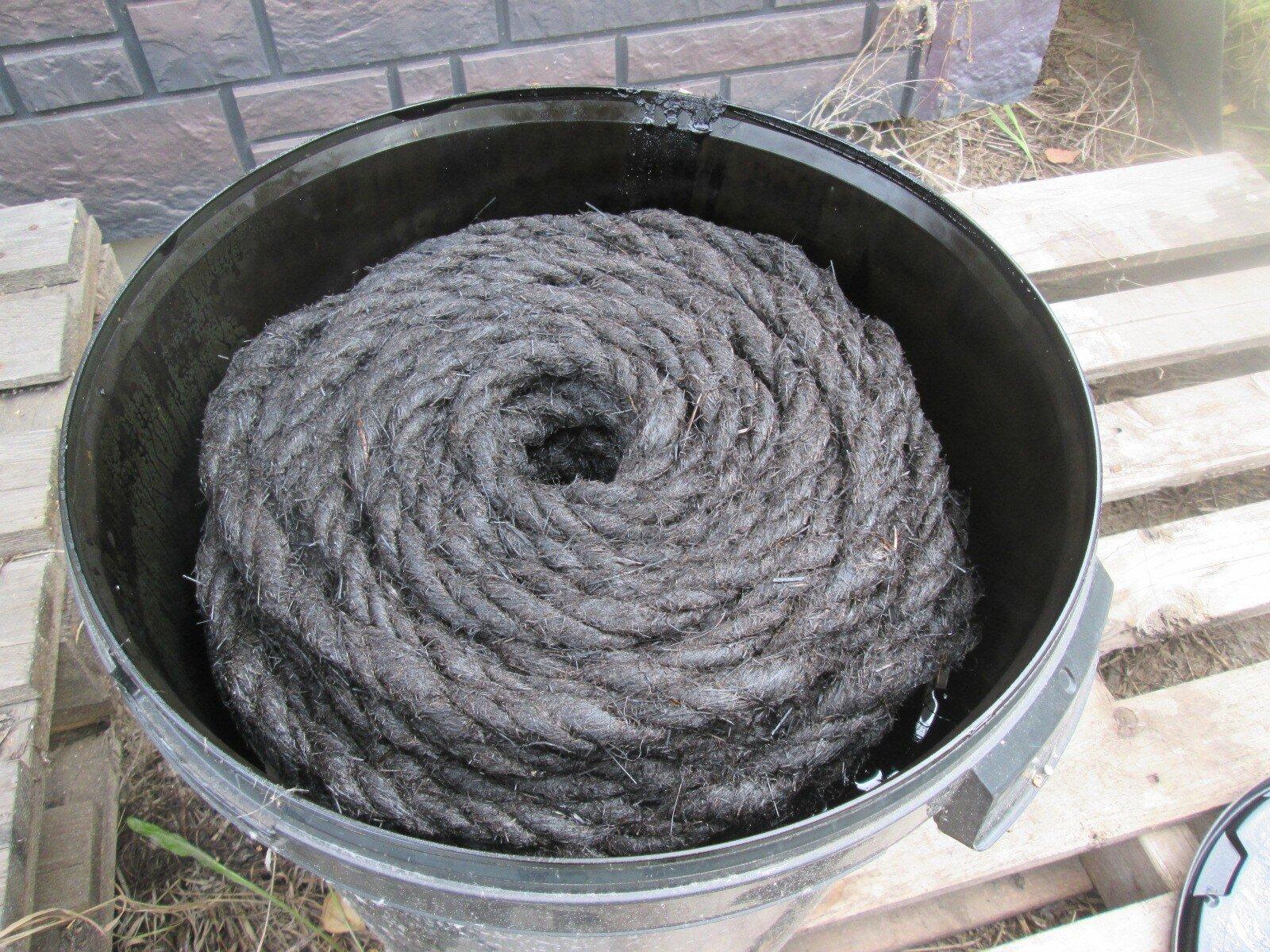 Каболка для канализационных труб д.14-16 мм (25 кг) - фото каболка