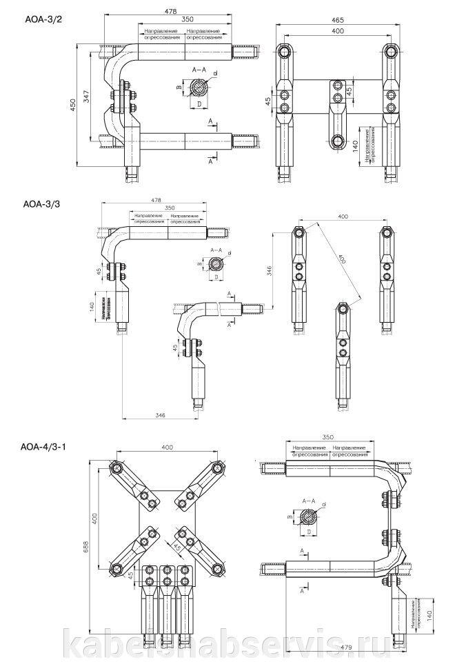 Контактная арматура (зажимы ответвительные, зажимы аппаратные) - фото pic_1eef3822ed9405b_700x3000_1.jpg