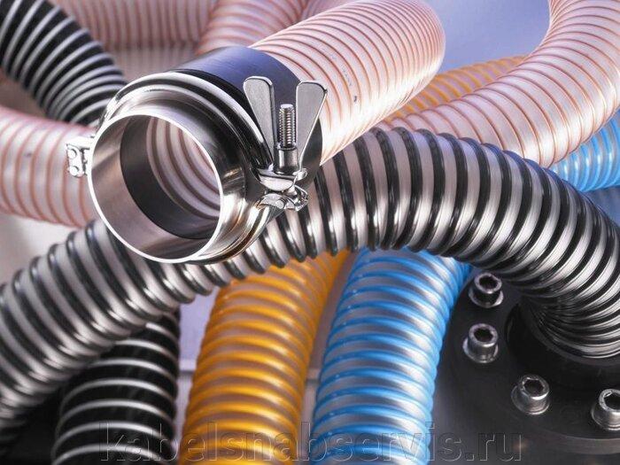 Шланги спиральные из ПВХ (НВС) - фото 1
