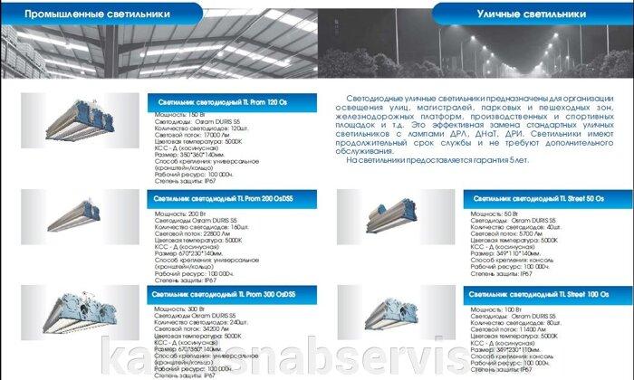 Светодиодная продукция торговой марки TL (светильники офисные, уличные, промышленные, даунлайты, прожекторы) - фото 20
