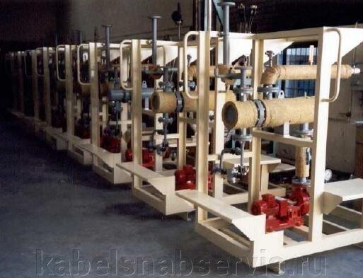 Взрывозащищенные нагреватели (погружные фланцевые, канальные, циркуляционные, проточные, хомутовые, формованные) - фото 11