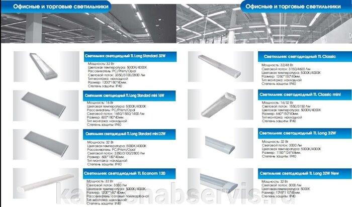 Светодиодная продукция торговой марки TL (светильники офисные, уличные, промышленные, даунлайты, прожекторы) - фото 13