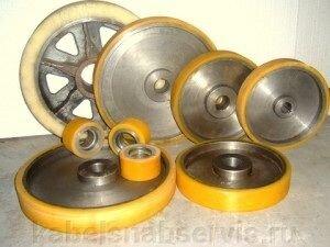Гуммирование полиуретаном колес, валов, роликов - фото 2