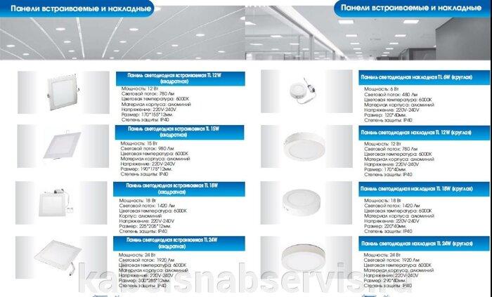 Светодиодная продукция торговой марки TL (светильники офисные, уличные, промышленные, даунлайты, прожекторы) - фото 16