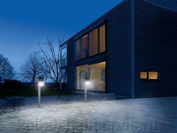 Светильники садовые светодиодные с датчиками движения на солнечных батареях - фото 12