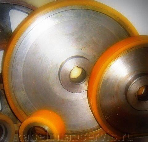 Гуммирование полиуретаном колес, валов, роликов - фото 11