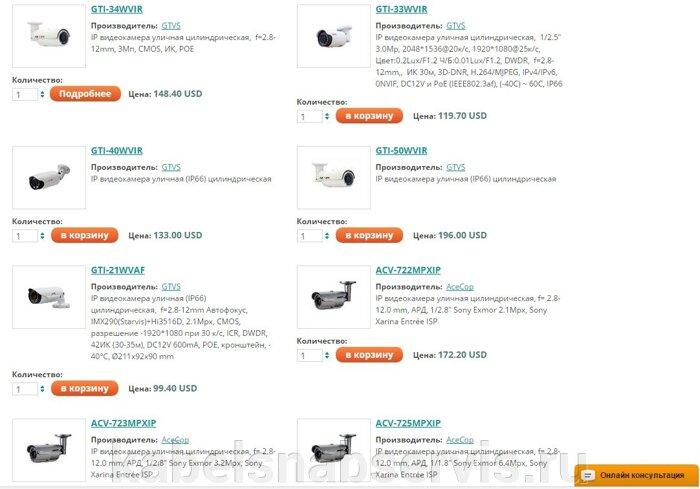 Системы видеонаблюдения: видеооборудование, видеокамеры, объективы, подсветки, усилители, преобразователи, грозозащита - фото pic_3a839a6275f87a1_700x3000_1.jpg