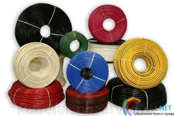 Провода силовые (ПВС, ПВ1, ПВ2, ПВ3, ПуВ, ПуГВ, ПУГНП, РКГМ) - фото 1