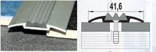 Алюминиевый профиль стыковочный, со вставкой - фото pic_354ea41cf88f93b_700x3000_1.jpg