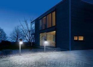 Светильники садовые светодиодные с датчиками движения на солнечных батареях - фото 7