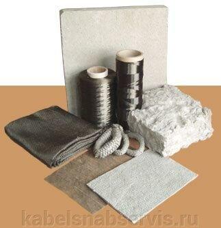Материалы теплоизоляционные (ткани, шнуры, лента, полотно, картон) - фото 1