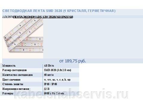 Светодиодная лента и др. светотехническая продукция - фото 10