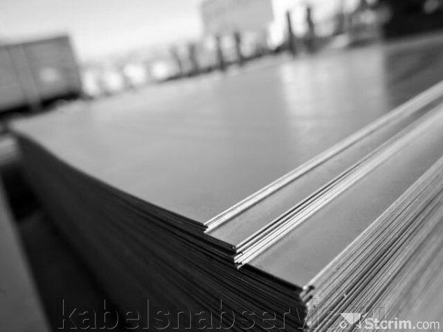 Лист стальной, горячекатанный, оцинкованный, рифленый, холоднокатанный, просечно-вытяжной - фото 1