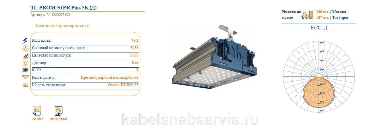 Светодиодные промышленные светильники TL-PROM - фото pic_be716ee9d746ad4_1920x9000_1.jpg