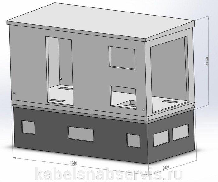 Бетонные корпуса для трансформаторных подстанций БКТП, КТП - фото pic_2ed3cf52c7d4b99_700x3000_1.jpg