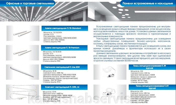 Светодиодная продукция торговой марки TL (светильники офисные, уличные, промышленные, даунлайты, прожекторы) - фото 14