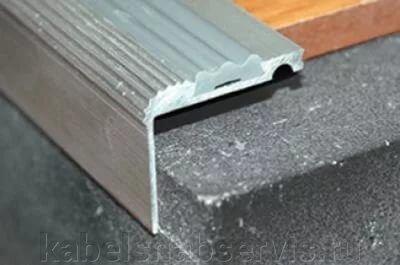 Алюминиевый порог, порог-угол с резиновой вставкой - фото pic_832389c9656a9d0_700x3000_1.jpg