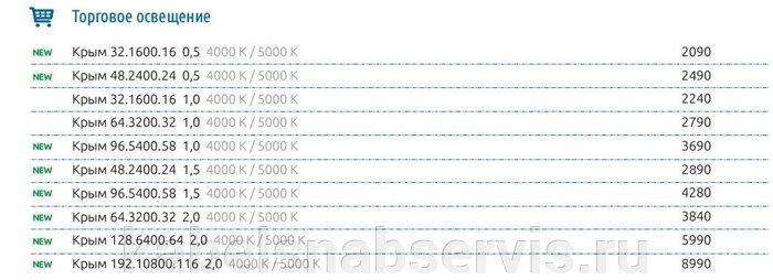 Торговые светильники КРЫМ по спеццене произв. DURAY - фото pic_5809a2e8be9d04f_700x3000_1.jpg