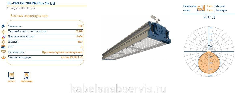 Светодиодные промышленные светильники TL-PROM - фото pic_78bcafbdf881724_1920x9000_1.jpg