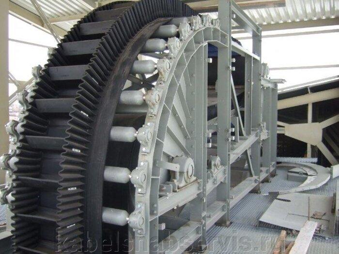 Шевронные, рифленые, с бортом конвейерные ленты производителей SAVA, Kale Conveyor, GUMMILABOR, SHARDA DARWINPLUS, РФ - фото 49