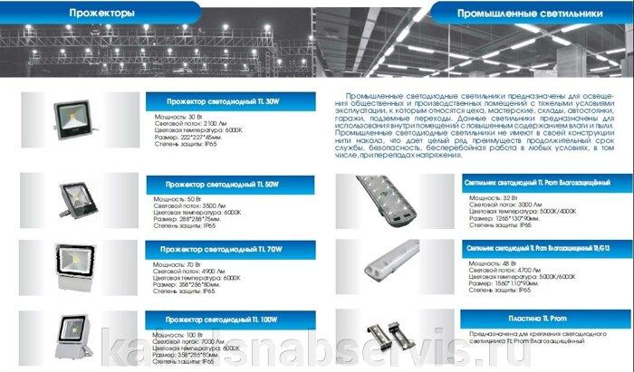 Светодиодная продукция торговой марки TL (светильники офисные, уличные, промышленные, даунлайты, прожекторы) - фото 18