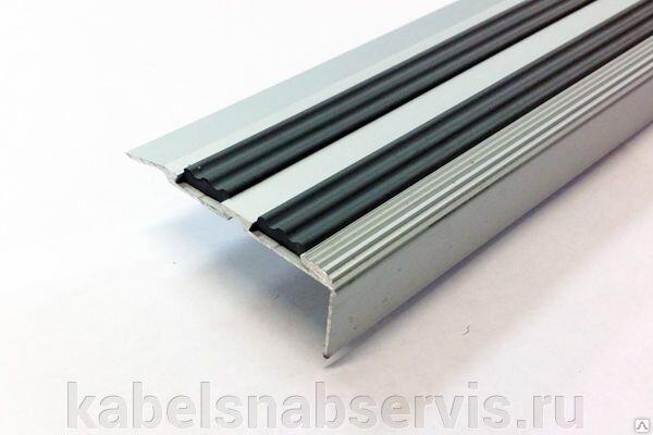 Алюминиевый порог, порог-угол с резиновой вставкой - фото pic_0c91efefb6f4be9_700x3000_1.jpg