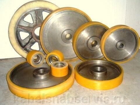 Гуммирование полиуретаном колес, валов, роликов - фото 12