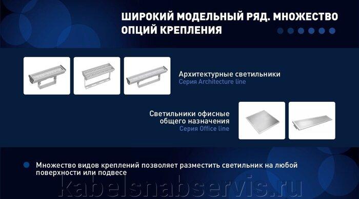 Светодиодные светильники серии Architecture - Line 14°, 32°, 54°, 34*16° с белыми светодиодами по оптовым ценам!!! - фото 9