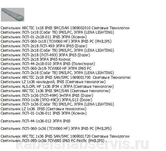 Светильники промышленные подвесные с люминесцентными лампами ЛСП - фото 9