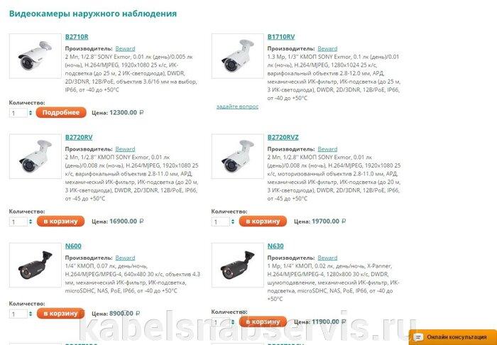 Системы видеонаблюдения: видеооборудование, видеокамеры, объективы, подсветки, усилители, преобразователи, грозозащита - фото pic_355bbd5c820b0c1_700x3000_1.jpg