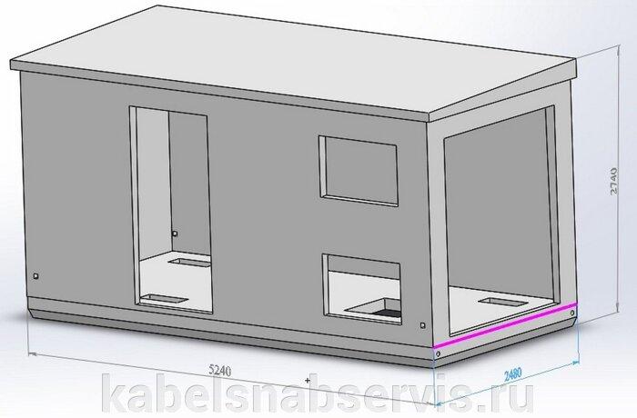 Бетонные корпуса для трансформаторных подстанций БКТП, КТП - фото pic_b16f60d5b93a738_700x3000_1.jpg