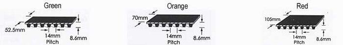Зубчатые ремни шевронные производства компании Goodyear (Великобритания), EaglePd - фото pic_75834d755485493_700x3000_1.jpg