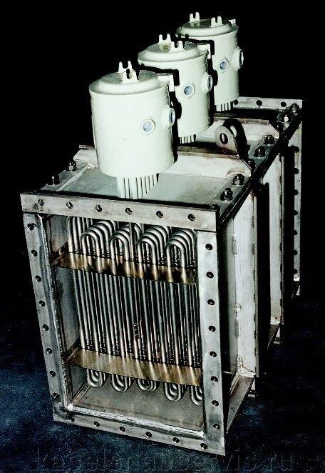 Взрывозащищенные нагреватели (погружные фланцевые, канальные, циркуляционные, проточные, хомутовые, формованные) - фото 5