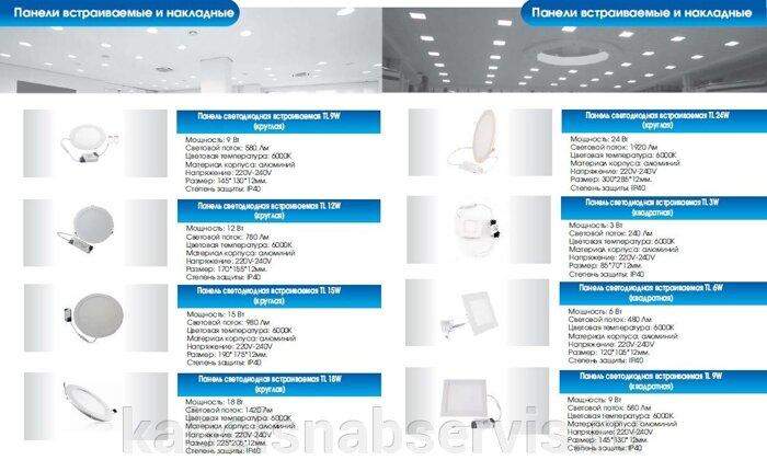 Светодиодная продукция торговой марки TL (светильники офисные, уличные, промышленные, даунлайты, прожекторы) - фото 15