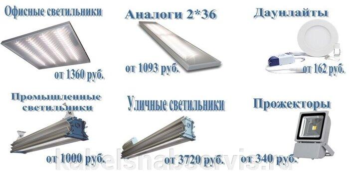 Светодиодная продукция торговой марки TL (светильники офисные, уличные, промышленные, даунлайты, прожекторы) - фото 1
